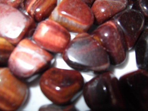 Red Tigers Eye tumble